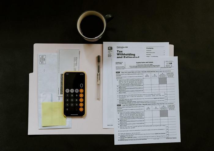 Facturas y cálculos de contador