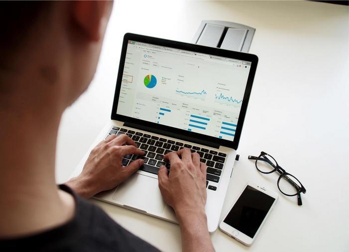 Contador usando un software