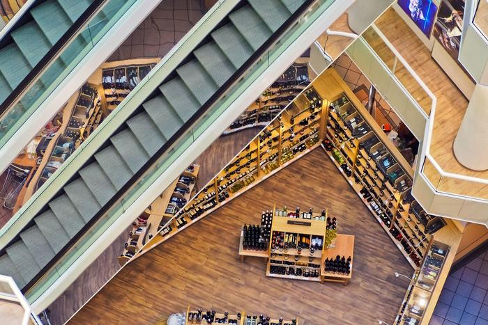sistema de gestion de centro comercial